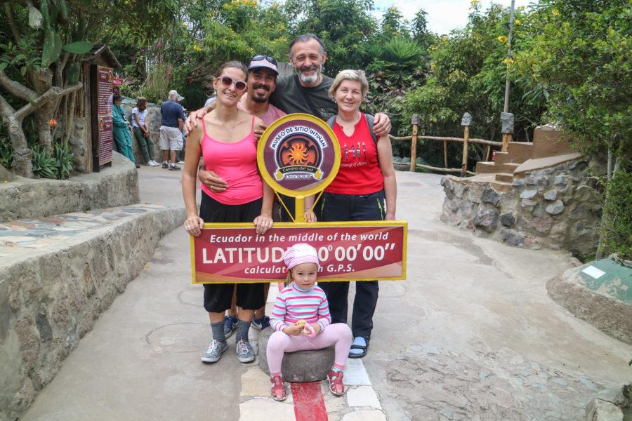 Эквадор с трехлеткой